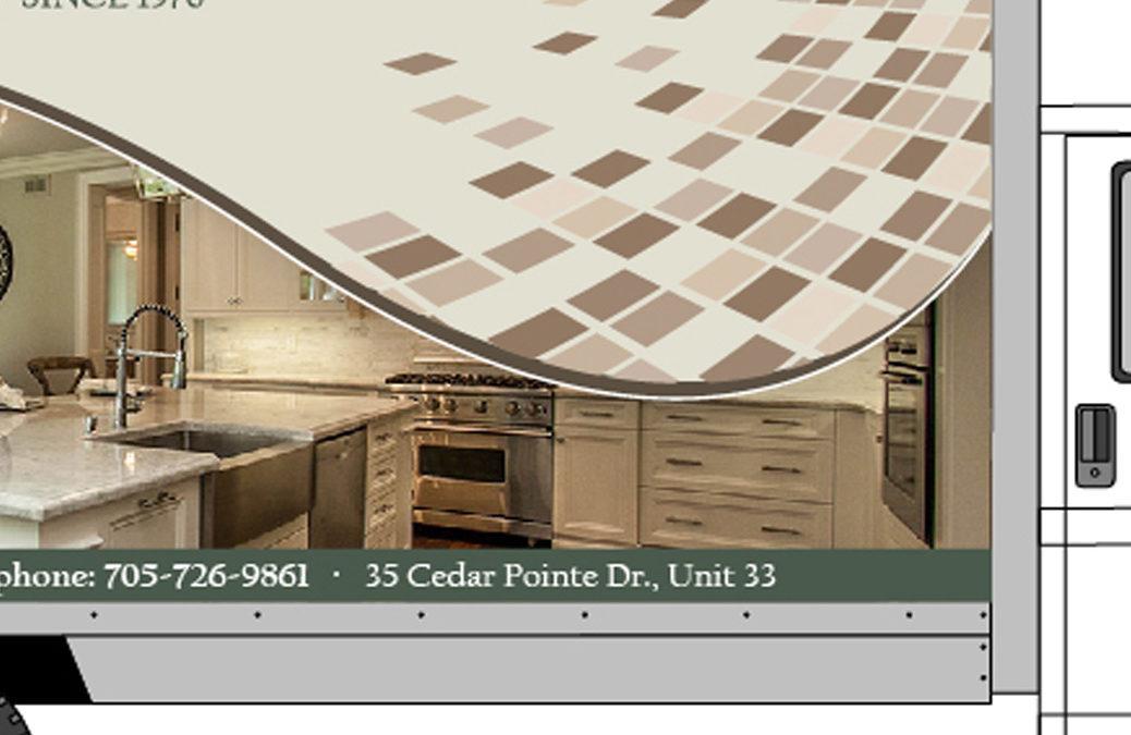 Designers Plus Cube Van Graphics