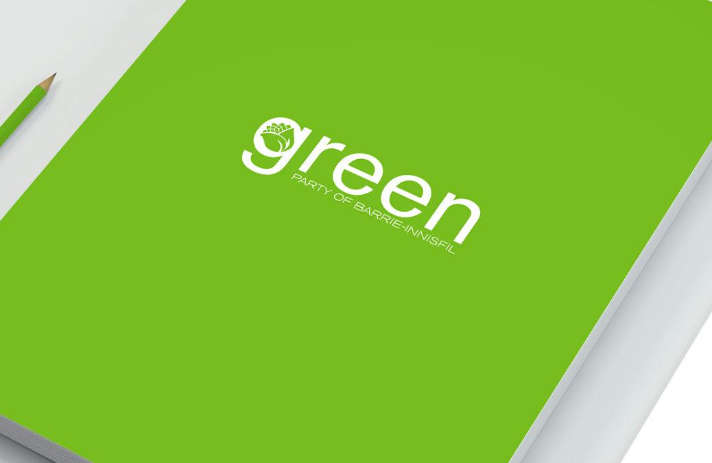 Green Party Branding