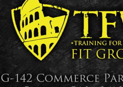 TFW Fit Ground Branding