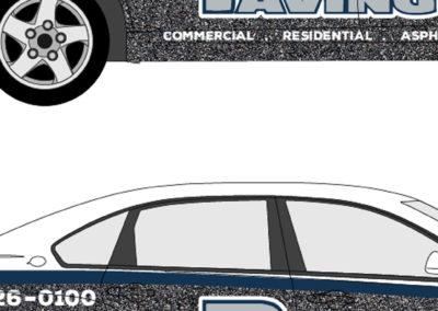 Chevrolet Impala Partial Wrap